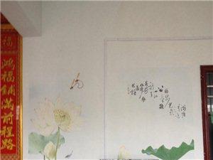澳门金沙墙体彩绘广告装饰中心