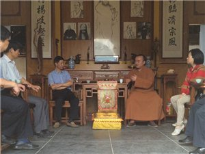 【萍乡市人大曾祥军副主任等调研杨歧普通寺