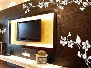 这个电视背景墙才叫美!