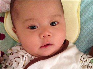 我家萌宝两个月啦,祝她健康快乐成长~