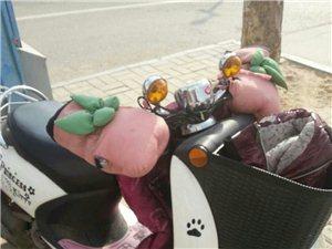 女生自骑摩托车,14年九月份买的