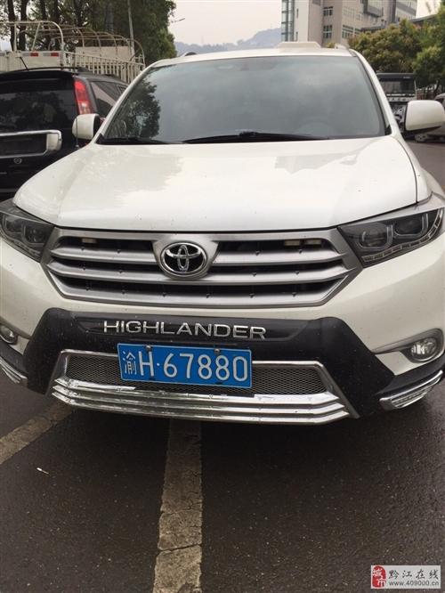 精品丰田车出售