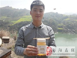 农家自产秦岭野生蜂蜜专卖~可批发!