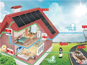 旬阳太阳能发电家用系统