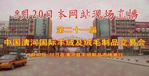 第二十一届中国清河国际羊绒及绒毛制品交易会
