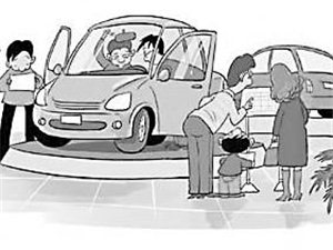 购买车辆选择好商家之后,怎样第一次上门看车和砍价?