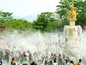 相聚仕林街,共度泼水节——傣族泼水节