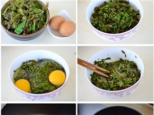 四月做一道超有营养价值的香椿鸡蛋饼