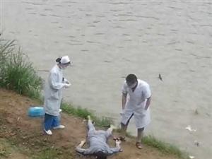 高州鉴江河今日有人跳河自杀