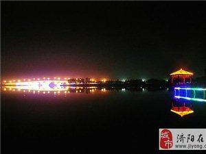 澄波湖夜景