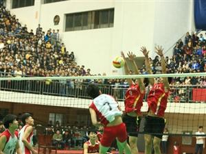 2014年湖南省青少年排球锦标赛-男排决赛