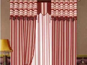 利用窗帘掩饰房间的缺点