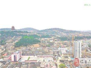 临县市民广场高层看临县