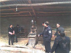 吉首市林业部门持续整顿非法木材加工行为