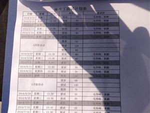 TPI招工计划表