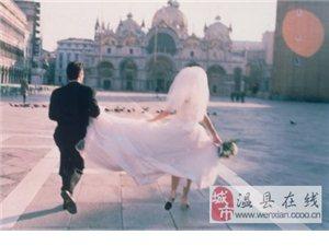 突破传统 蜜月旅行婚纱照