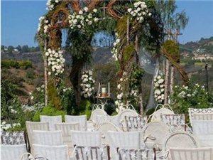 花园式户外婚礼