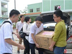 [原创]蓝海豚公益志愿服务队送书到龙潭育英小学