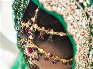 印度嫁衣细节图