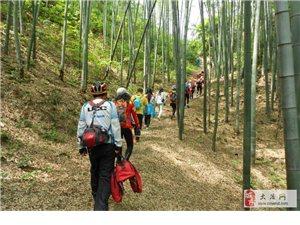 骑行+徒步翻越黄石地区最高峰――七峰山的南岩峰
