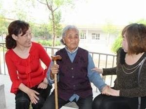 衡水阜城志愿者到养老院陪老人过五一