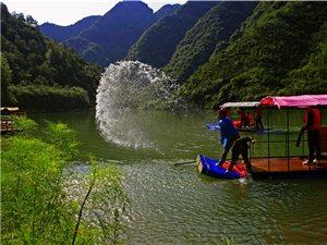 5月1日豫西大峡谷漂流激情开漂