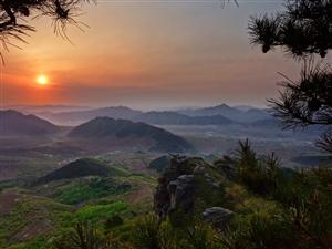 �p峰山看日出