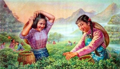《舌尖2》热播引发中国红色年代食品宣传画走红(1/11)