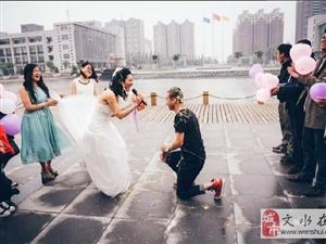 晋中学院大四女生举办校园婚礼共花费500元