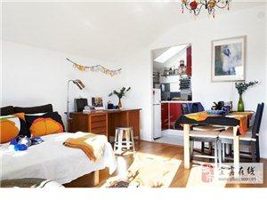 一个只有三十多平米的阁楼公寓