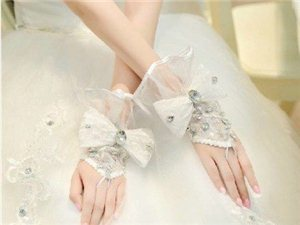唯美至极的新娘婚纱手套!
