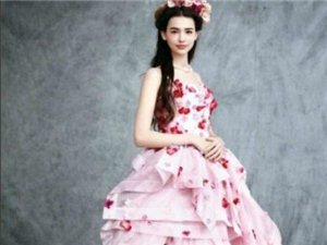 美得像画一般的礼服
