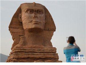 """石家庄现山寨版""""狮身人面像"""" 遭埃及文物部门投诉"""