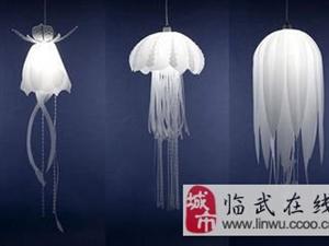 时尚创意家居饰品——水母吊灯