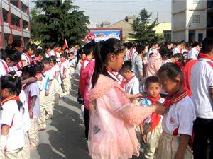"""团县委举办""""红领巾相约中国梦""""接收新少先队员仪式"""