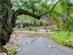 新县西河古村落,世外桃源的美