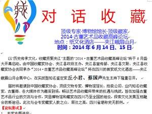 2014古董艺术品收藏高峰论坛