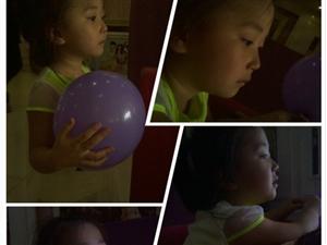 张贝兮 女 四岁了哟~微笑