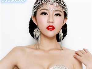 独具一格复古系新娘造型 最另类美感
