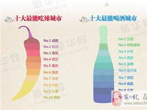 图说中国美食:一张图上的美食之旅