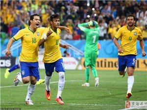 高清:巴西3:1克�_地�� 巴西有�@�o�U�_�T�t