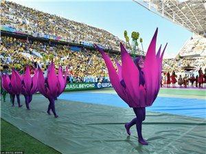 2014巴西世界杯开幕式