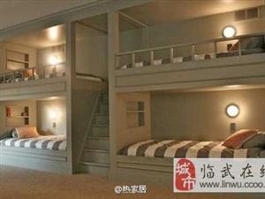 来看看国外的双层床设计