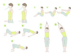 4式瑜伽帮您消除便秘,排毒收腹