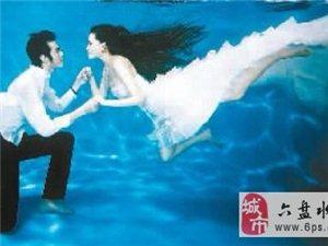 我以后也要拍水下婚�