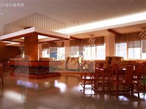 茶楼成套设计图片展示