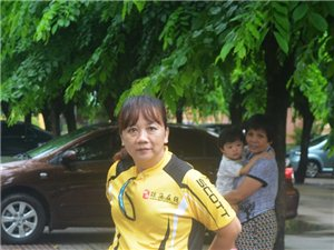 琼海溜溜自行车队车友6月22号骑行官塘(北仍生态村)随拍
