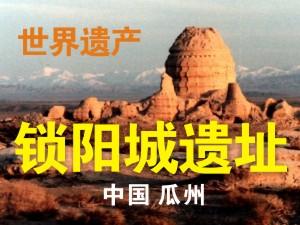 世界遗产―瓜州锁阳城遗址