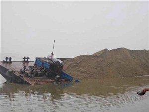 岳阳市湘阴县3千吨货船翻沉, 至今没有打捞