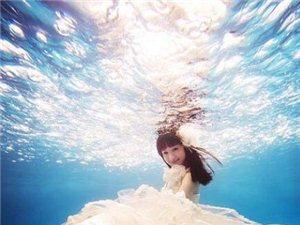 水下婚�照怎么拍 拍出白��h逸的浪漫美感